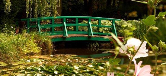 Passeio Jardins Casa Monet na Normandia