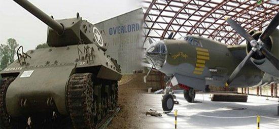 Passeio- Museus Dia-D na Normandia