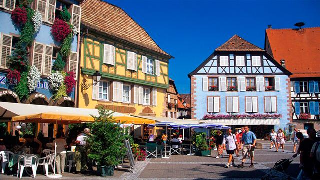 Roteiro 3 dias Alsacia - Ribeauvillé